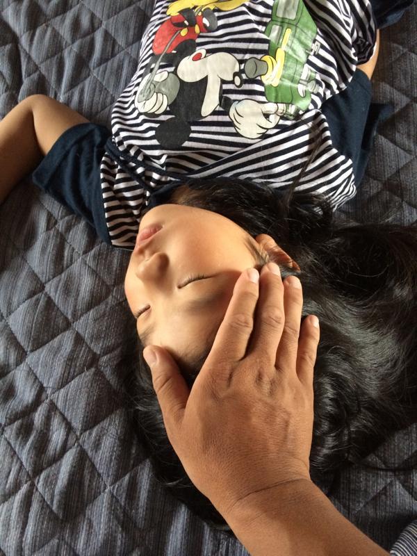 レイキ-直傳靈氣_家庭の代替医療・医薬品に頼らない家庭療法を考える-幼児の急な高熱2